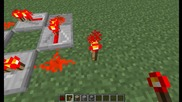 Minecraft-redstone clock уроче