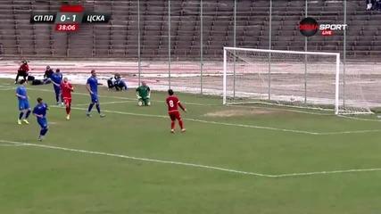 Спартак Плевен - Цска 0:2