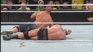 John Cena прави Rko на Randy Orton - Royal Rumble 2014