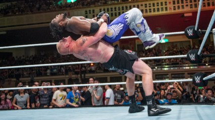Brock Lesnar vs. Kofi Kingston: Beast in the East