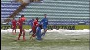 ВИДЕО: Ето как ЦСКА откри резултата във Вечното дерби
