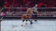 Santino Marella Stomps on John Laurinaitis' Phone - Wwe Raw 3_19_12..
