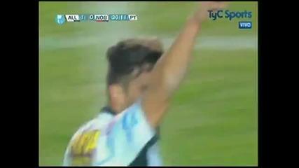 Фамозен гол със задна ножица в Аржентина