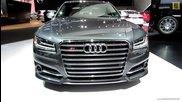 2014 Audi S8 - Exterior and Interior Walkaround - 2014 Detroit Auto Show