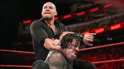 Roman Reigns vs. Baron Corbin - No Disqualification, No Count-Out Universal Championship Match: Raw, Sept. 17, 2018