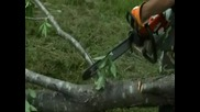 Tractorguytv Stihl Chainsaw Demonstration