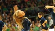 Мажоретки от Литва зашеметяващо танцуват ,истински забавляват публиката