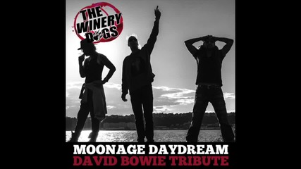 The Winery Dogs - Moonage Daydream ( Tribute to David Bowie)