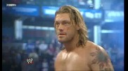 [hq] Wwe Royal Rumble 2011: Edge (c) Vs. Dolph Ziggler (with Vickie Guerrero) {част 1/3}