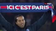 В Париж е така: Роналдиньо с начален удар, куп звезди на стадиона