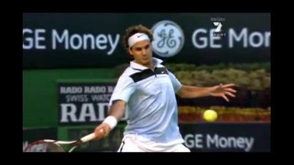 Roger Federer - Super Slow Motion Forehand - Hd