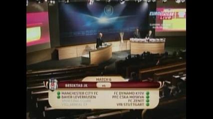 """Фаворити се срещат в ранна фаза след жребия за 1/16 финалите на """"Лига Европа"""""""