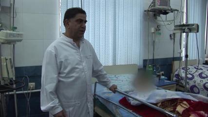 Nagorno-Karabakh: Hospital treats children wounded in shelling