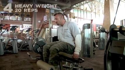 Kris Gethin 12 Weeks Trainer - Week 12 - Day 84 - Sunday