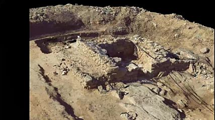 Eлинистическа фамилна гробница гр. Созопол 3d сканиране