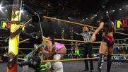 Kacy Catanzaro & Kayden Carter vs. Franky Monet & Jessi Kamea: WWE NXT, July 27, 2021