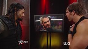 raw 9th june, 2014 seth rollins explains why he turned on the shield