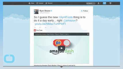 Amazon's Strange New Dash Button for Impulse-ordering: 'Indeed, it is Real'