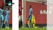 Юнайтед излезе едни гърди напред срещу Уест Хям след автогол
