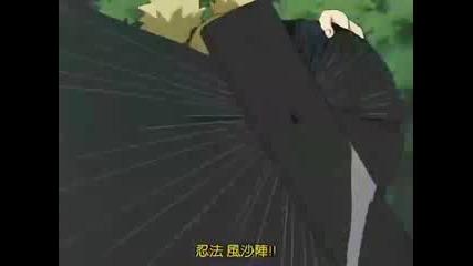 Temari Vs Sasuke