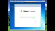 Инсталация / Преинсталация на Windows 7 Ultimate