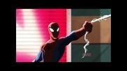 Дива компилация от филмите и анимациите за супергероя Спайдър - Мен