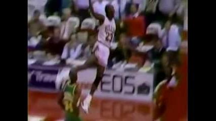 Nba Top 40 dunks Michael Jordan vs Kobe Bryant