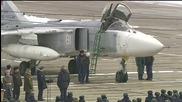 Руските джетове Сухой се връщат от Сирия