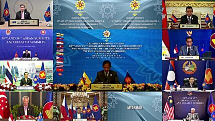 Brunei: ASEAN chairpersonship handed over to Cambodia during summit closure