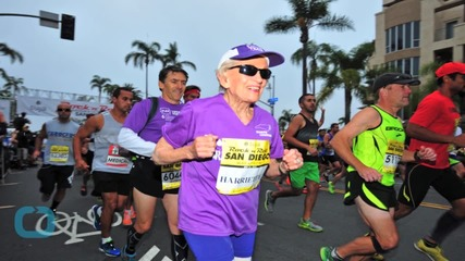 This 92-Year-Old Just Finish a Marathon!