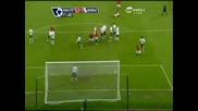 Страхотен Гол На Оуен Харгрийвс от пряк свободен удар срещу Арсенал за 2:1
