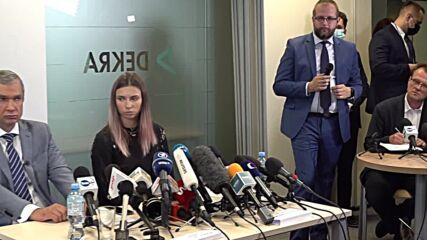 Poland: Belarusian athlete Tsimanouskaya 'worried about parents' safety' in Belarus