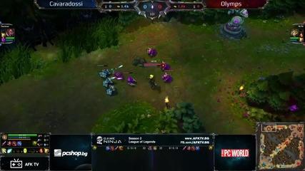 Game Ninja: Lol 1vs1 Финал Cavaradossi vs Olymps