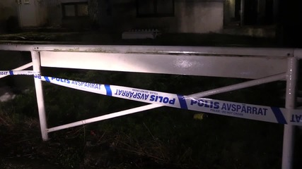 Sweden: Tributes placed for woman stabbed to death at refugee shelter
