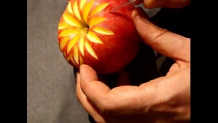 Карвинг с ябълка