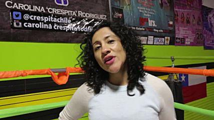 Бременна в 8-мия месец се боксира на ринга
