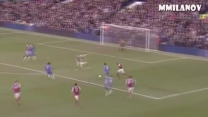 Всички голове на Азар за Челси (12-13)