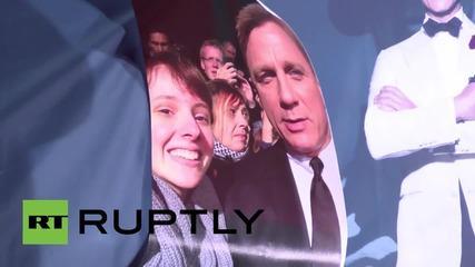 Germany: Daniel Craig attends latest James Bond premiere in Berlin