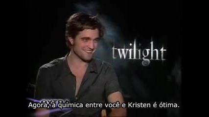 Robert Pattinson fala sobre Noiva