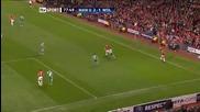 Man Utd vs Wolfsburg Michael Carrick Goal