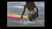 Skimming Rio beaches