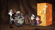 Тайните на Гравити Фолс Сезон 1 Епизод 8 Irrational Treasure английско аудио