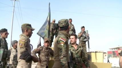 Iraq: Iraqi Air Force assist advancing Peshmerga near Mosul