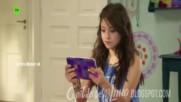 Soy Luna 2 - Луна и Нина говорят за Матео.+бг превод 3 епизод