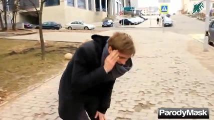 Jackass в Русия - част 4. Много смях!