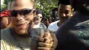 Pipo Sanchez чупи предния си прозорец на Sbn 2011