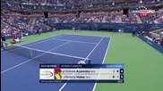 Azarenka - Halep (us Open 2015) part.2