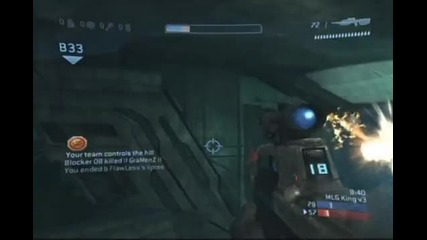 Amazing 540 Halo 3 Assassination - (now in the Mlg Top 10 Se