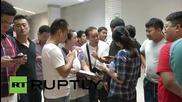 Тайланд: Семейства се стичат към болниците след взрива в Бангкок