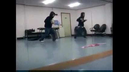 R - ael Chang Hyun & Shang I dance